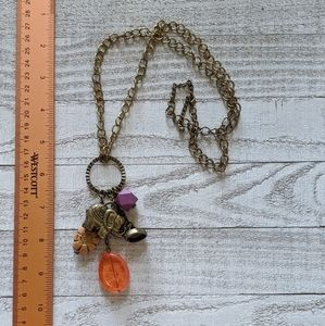 Jewelry - Elephant Long Chain Necklace
